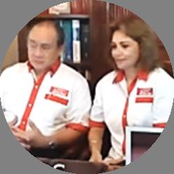 Dr. José Aguilar y Dra. Dulce Crespo